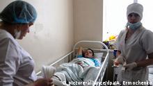 Krankenhaus in Donezk, Ostukraine