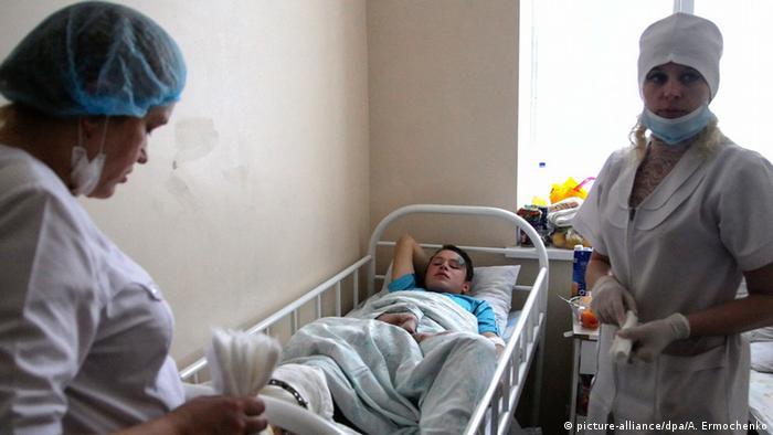 У донецькій лікарні