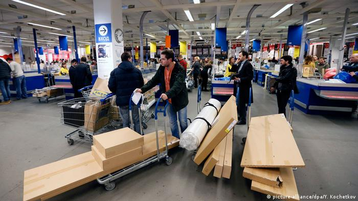 IKEA-Filiale in Moskau (picture-alliance/dpa/Y. Kochetkov)