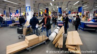 IKEA-Filiale in Moskau