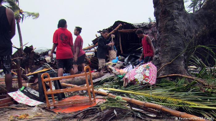 Zerstörung un Vanuatu nach Zyklon Pam (Foto:rtr)