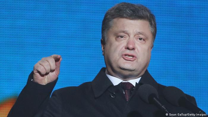 Ukraine Poroschenko
