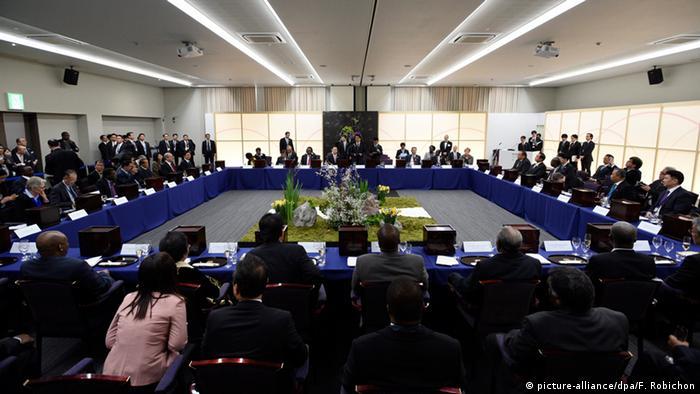 Japan UNO Konferenz in Sendai (Katastrophenschutz)
