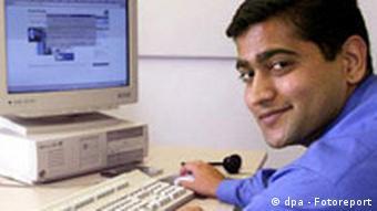 Amit Kulkarni - mit Green Card in Deutschland