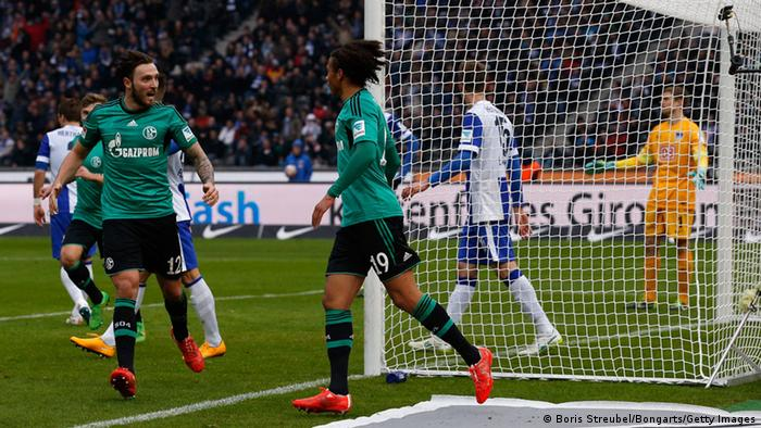 Bundesliga Hertha BSC Berlin FC Schalke 04