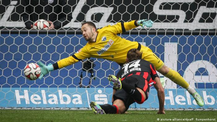 Bundesliga Eintracht Frankfurt SC Paderborn 07