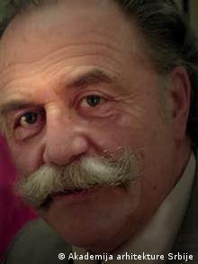 Serbische Architekt Dragoljub Bakić