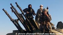 IS Syrien Kämpfer Islamischer Staat Rakka