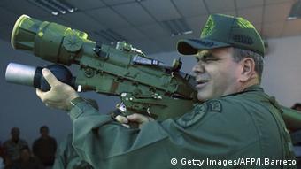 El mayor general Vladimir Padrino López, ministro de Defensa de Venezuela.