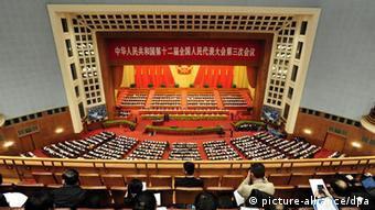 Volkskongress in Peking