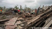 Zerstörung in Vanuatu nach Zyklon Pam