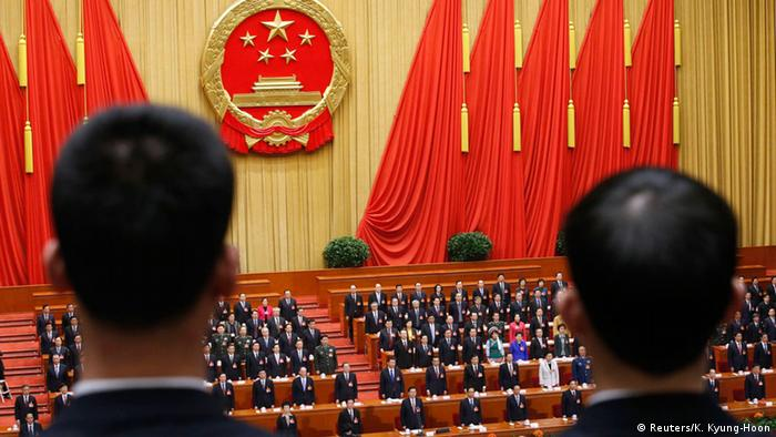 China Volkskongress in Peking (Reuters/K. Kyung-Hoon)