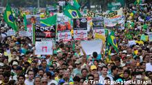 Brasilien Antiregierungsproteste