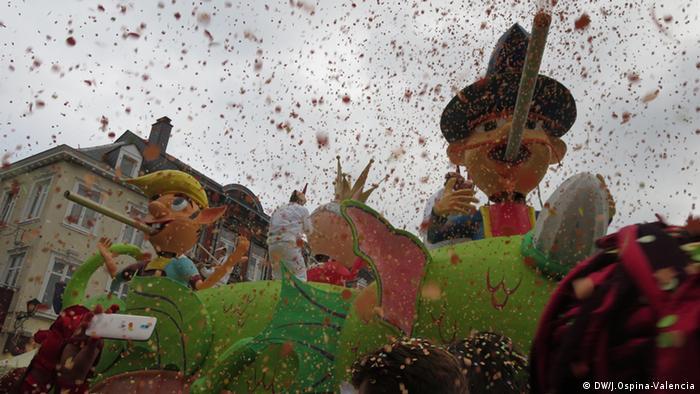 Stavelot, Karneval mitten in der Fastenzeit