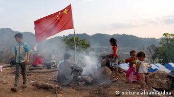 Bildergalerie China Myanmar Konflikt