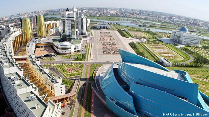 Fotografija Astane iz zraka