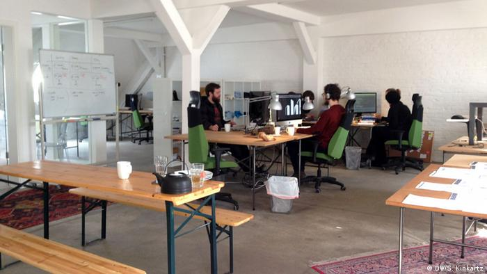 Büro des Startups Jobspotting
