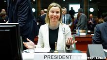 EU Außenminister Treffen