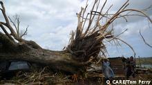Zerstörung durch Zyklon Pam *** Copyright: CARE/Tom Perry