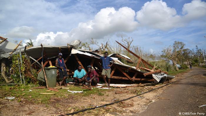 Vanuatu Zerstörung durch Zyklon Pam