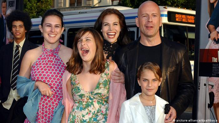 Bruce Willis and family