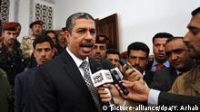 Zurückgetretener Jemenitischer Premierminister Khaled Bahah