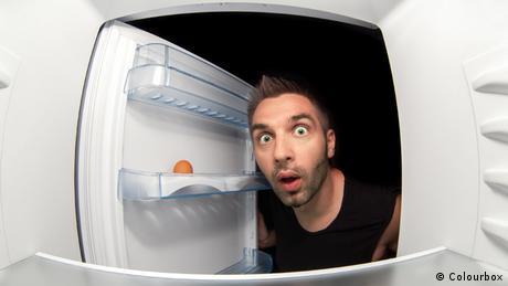 Symbolbild leerer Kühlschrank