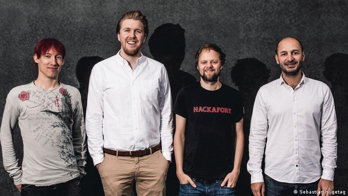 Mitglieder des Startups Jobspotting