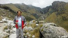 ***Achtung: Nur zur mit Saúl Luciano Lliuya abgesprochenen Berichterstattung verwenden!*** Saúl Luciano Lliuya, Kleinbauer aus Peru, der den Energiekonzern RWE auf Schutzmaßnahmen zum Klimawandel verklagen will. *** Foto: privat
