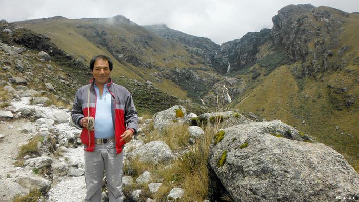 Peru Kleinbauer Saúl Luciano Lliuya (privat)