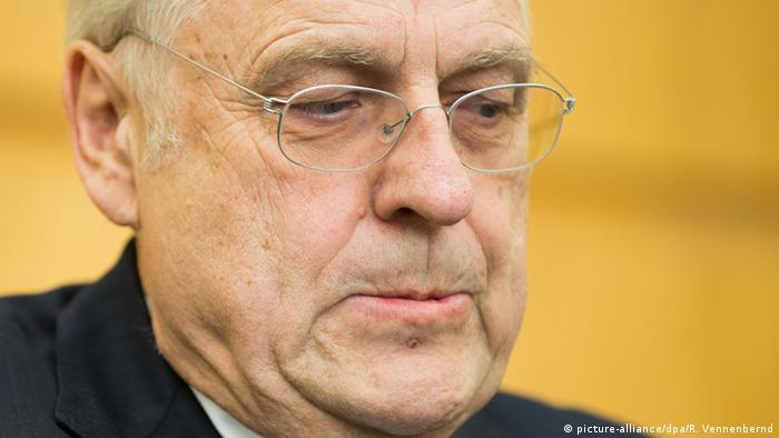 Prozess gegen Helge Achenbach im Landgericht Essen (Foto: dpa)