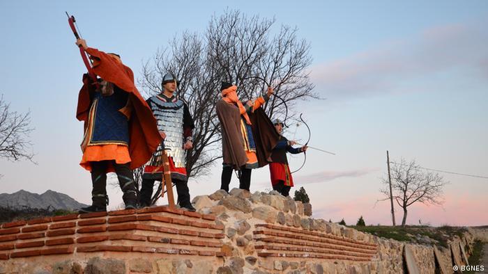 Bulgarien Festung Tuida (BGNES)