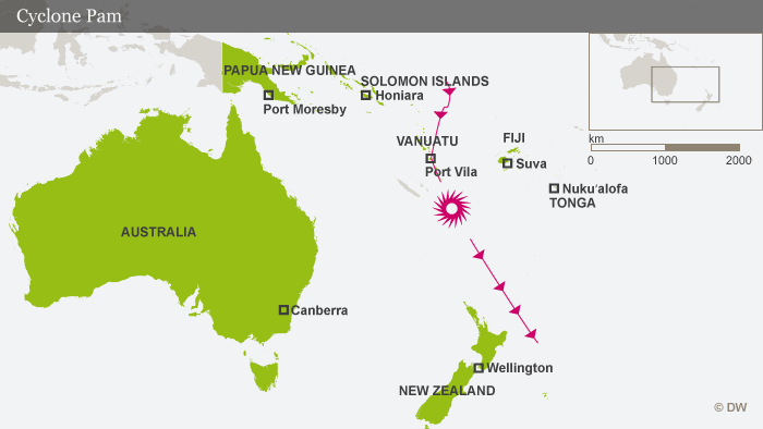 Infographic: Cyclone Pam was the worst natural disaster in the history of Vanuatu