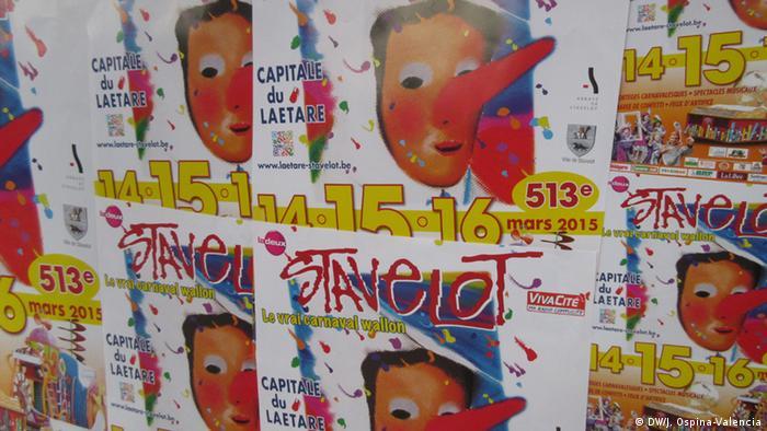 """Belgien Karneval der """"Blanc-Moussîs"""""""