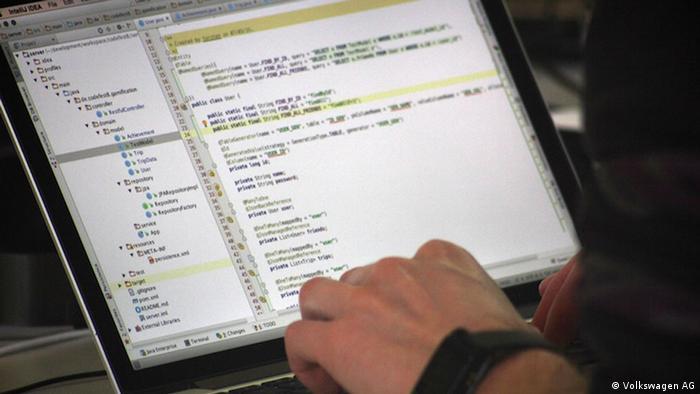 Programmierwettbewerb codeFEST 8 in Aachen (Volkswagen AG)