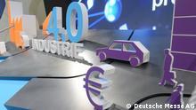 Symbolbild Industrie 4.0 auf der Computermesse Cebit (Aufnahme: Hannover, 15.3.2015); Copyright: Deutsche Messe AG**Pressebild nur für die aktuelle, themengebundene Berichterstattung