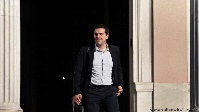 Alexis Tsipras in Athen (Foto: picture alliance)