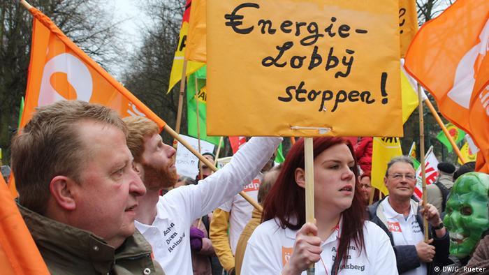 Belgien Internationaler Protest gegen Atomkraft
