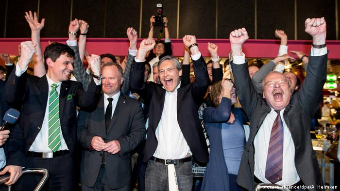 Deutschland Hamburg feiert die Olympia-Empfehlung