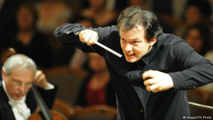 Dirigent Andris Nelsons in Aktion. (Foto: Imago/CTK Photo)