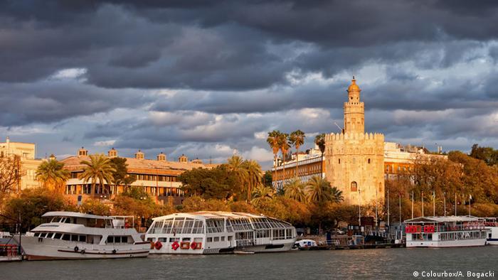 Torre del Oro in Sevilla (Colourbox/A. Bogacki)