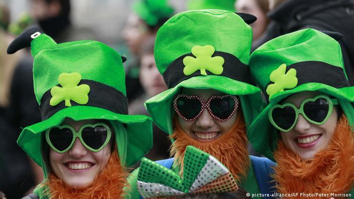 Парад у День Святого Патрика в Дубліні