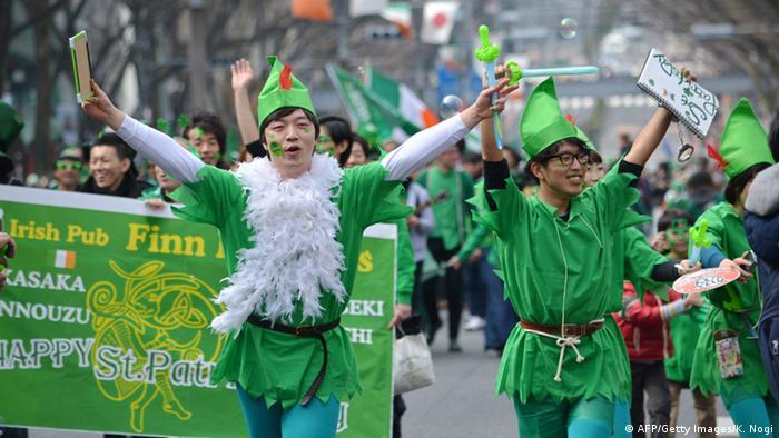 Bildergalerie St Patrick's Day 2015 Tokyo (AFP/Getty Images/K. Nogi)