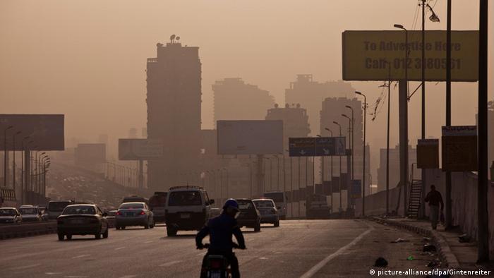 Smog über Kairo