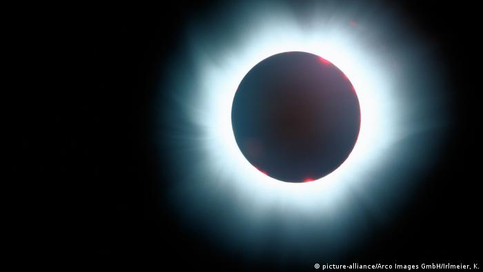 Sonnenfinsternis 1999 gesehen von München Deutschland