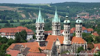 Overview with Naumburg Dom St Peter and Paul, Copyright Imago fotokombinat