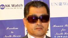 Nordkorea Herr Kim Dissident