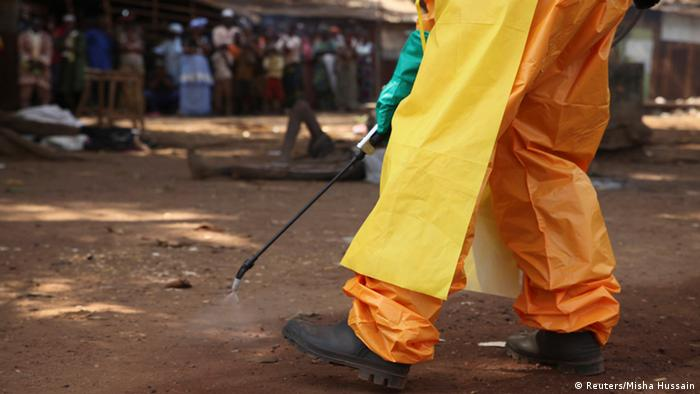 Symbolbild - Afrika Ebola in Guinea