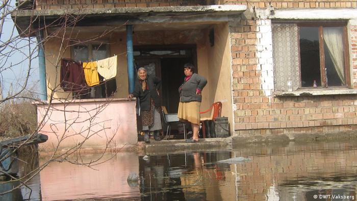 Das Roma-Viertel in der bulgarischen Stadt Vidin