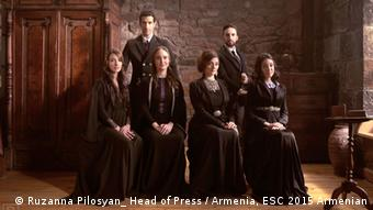 Armenian-Ethiopian, 2015 Eurovision Song Contest Genealogy group
